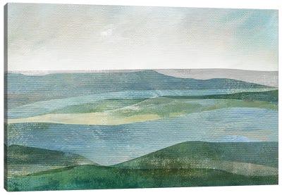 River Valley Canvas Art Print