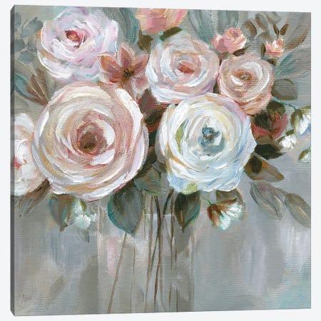 Bouquet in Blush Canvas Print #NAN594} by Nan Canvas Print