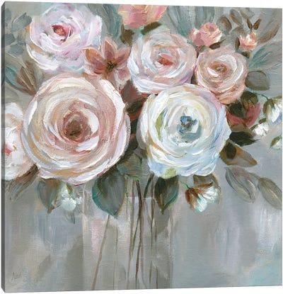Bouquet in Blush Canvas Art Print