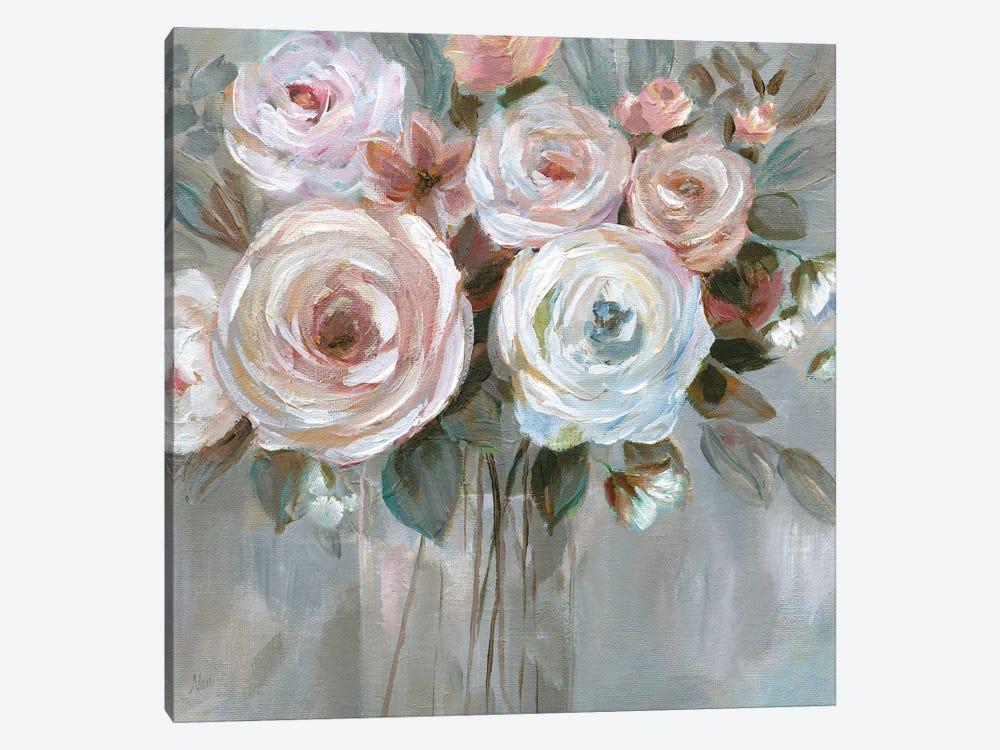 Bouquet in Blush by Nan 1-piece Art Print