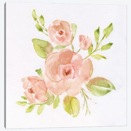 Cottage Blush I Canvas Print #NAN598} by Nan Canvas Artwork