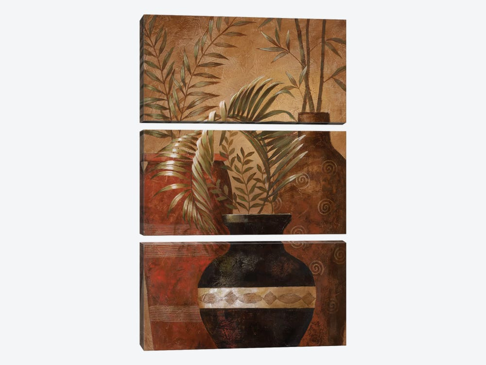 Exotic Vacation II by Nan 3-piece Canvas Artwork