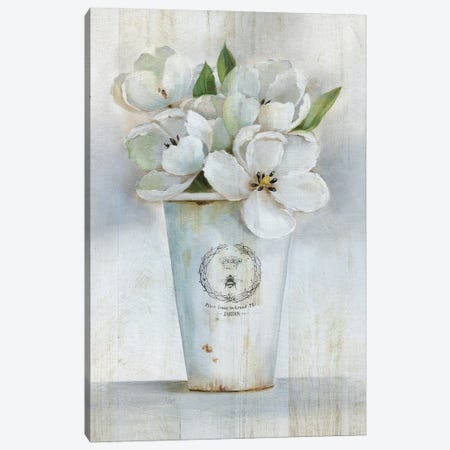 Fleuriste Francais I Canvas Print #NAN600} by Nan Canvas Art