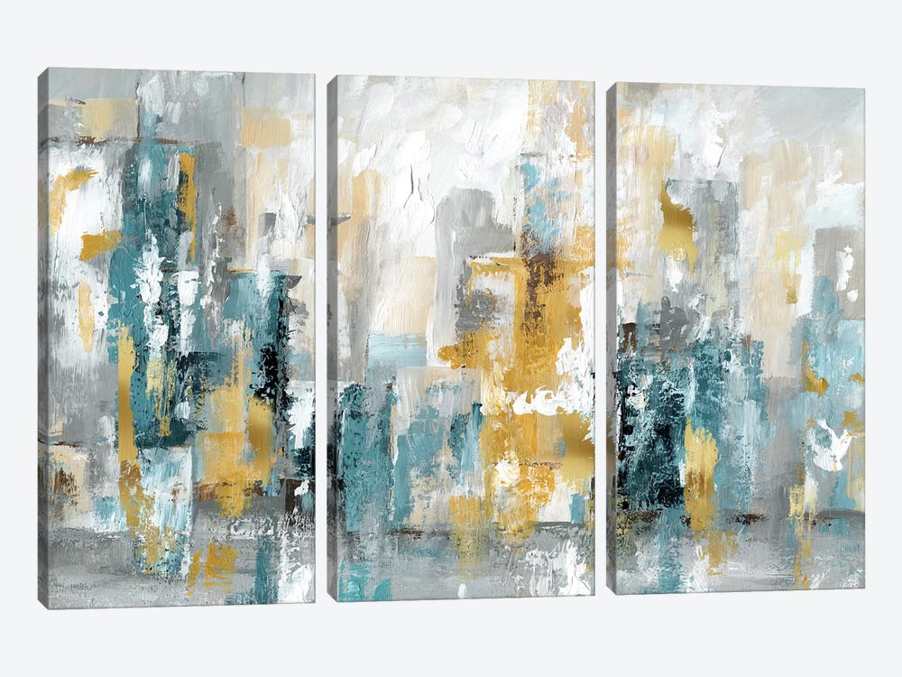 City Views II by Nan 3-piece Canvas Art