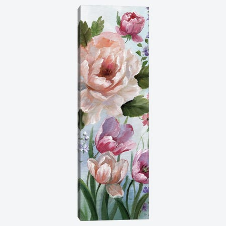 Romantic Botanical I Canvas Print #NAN614} by Nan Canvas Artwork