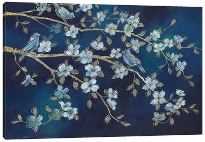 Bluebird Conference Canvas Art Print