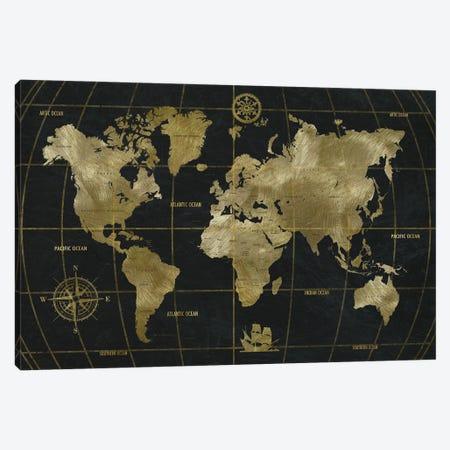 Golden World Canvas Print #NAN630} by Nan Canvas Print