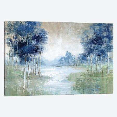 Birch River Canvas Print #NAN633} by Nan Art Print
