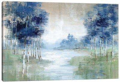 Birch River Canvas Art Print