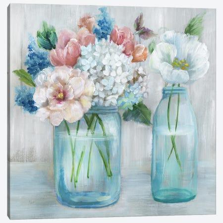 Country Bouquet Canvas Print #NAN640} by Nan Canvas Art