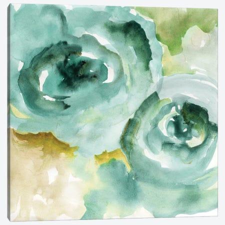 Cyan Season Canvas Print #NAN641} by Nan Canvas Art