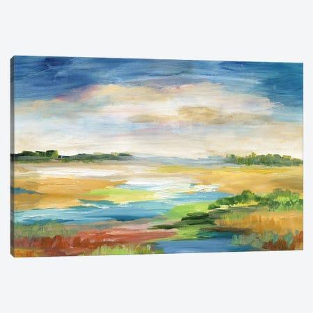 Distant Inlet Canvas Print #NAN642} by Nan Canvas Artwork