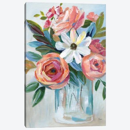 Fiesta Blooms Canvas Print #NAN645} by Nan Canvas Art Print