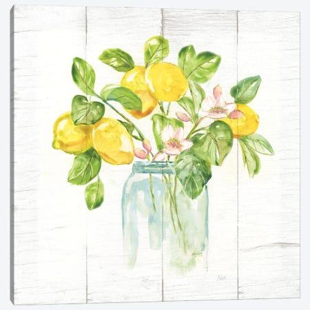 Lemon Branches II Canvas Print #NAN658} by Nan Art Print