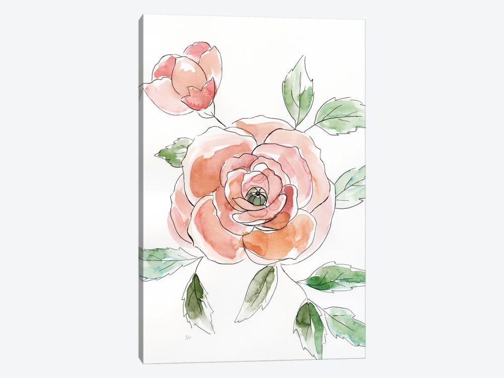 Rose Contour by Nan 1-piece Art Print