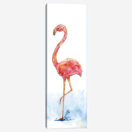 Flamingo Splash II Canvas Print #NAN66} by Nan Canvas Wall Art