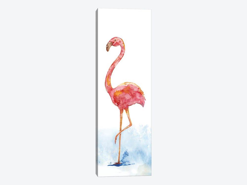 Flamingo Splash II by Nan 1-piece Canvas Art