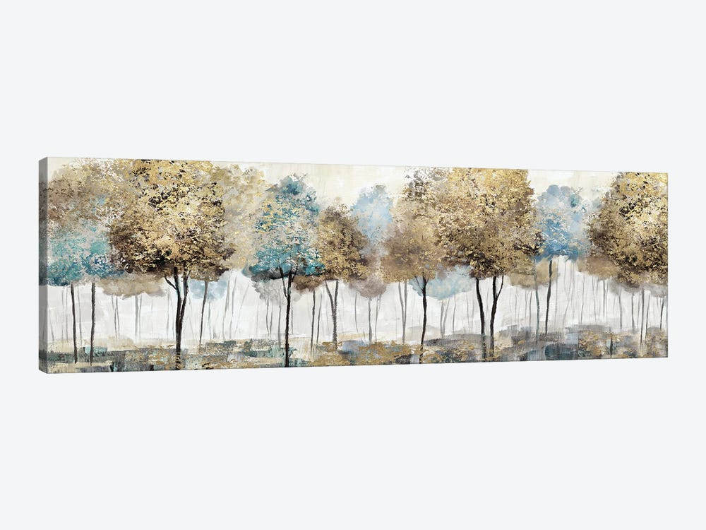 Soft Spring Panoramic by Nan 1-piece Canvas Artwork