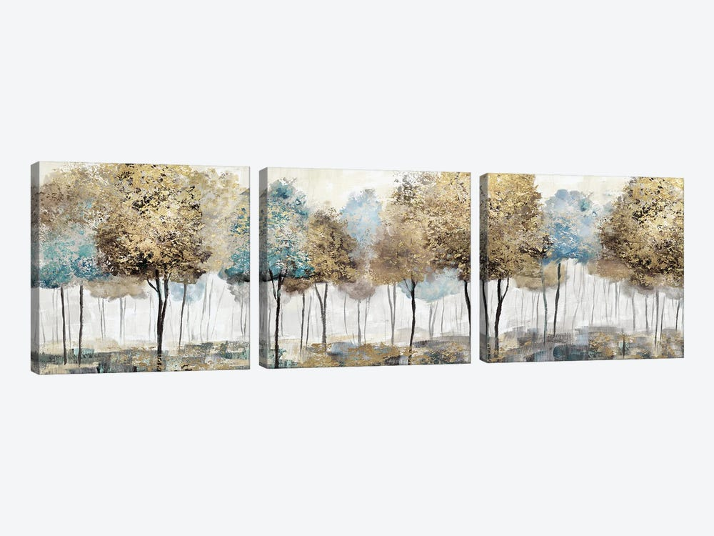 Soft Spring Panoramic by Nan 3-piece Canvas Artwork
