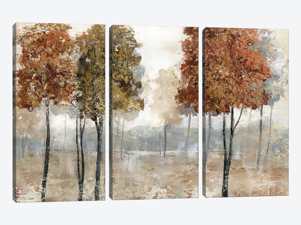 Trees of Copper Mountain by Nan 3-piece Canvas Print
