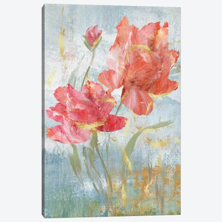 Floral Dance I Canvas Print #NAN67} by Nan Canvas Art
