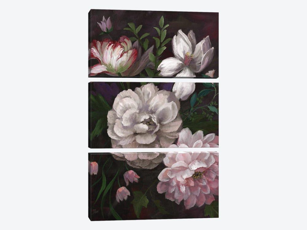Venezia Bouquet by Nan 3-piece Canvas Artwork