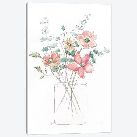 Whimsical Wildflowers I Canvas Print #NAN683} by Nan Canvas Art