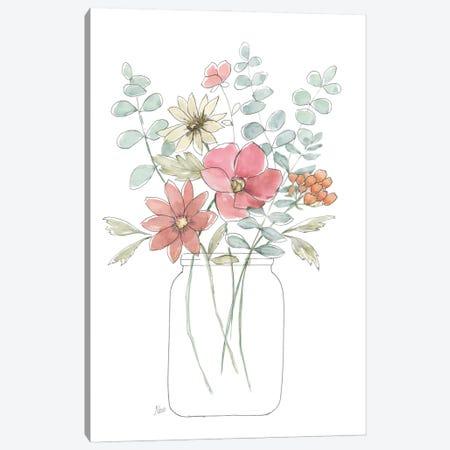 Whimsical Wildflowers II Canvas Print #NAN684} by Nan Art Print