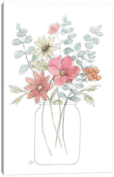 Whimsical Wildflowers II Canvas Art Print