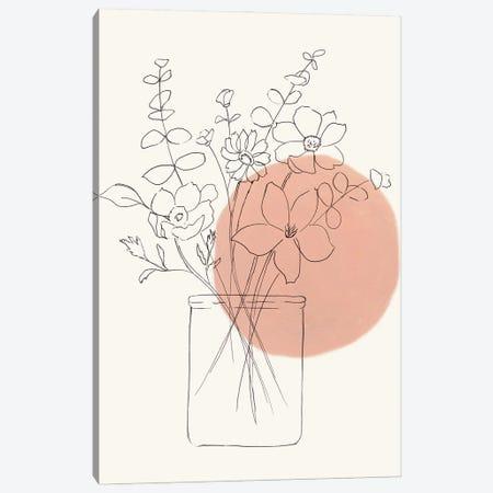Contemporary Wildflower Bouquet Canvas Print #NAN686} by Nan Canvas Print