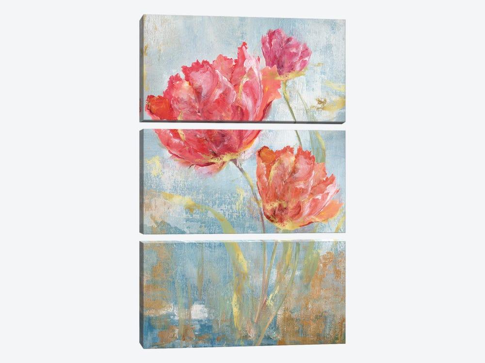 Floral Dance II by Nan 3-piece Canvas Art