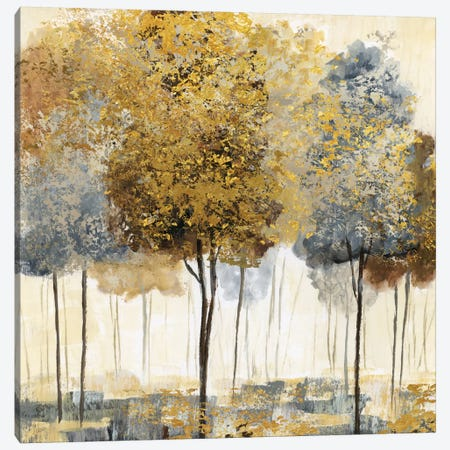 Metallic Forest I Canvas Print #NAN6} by Nan Canvas Artwork
