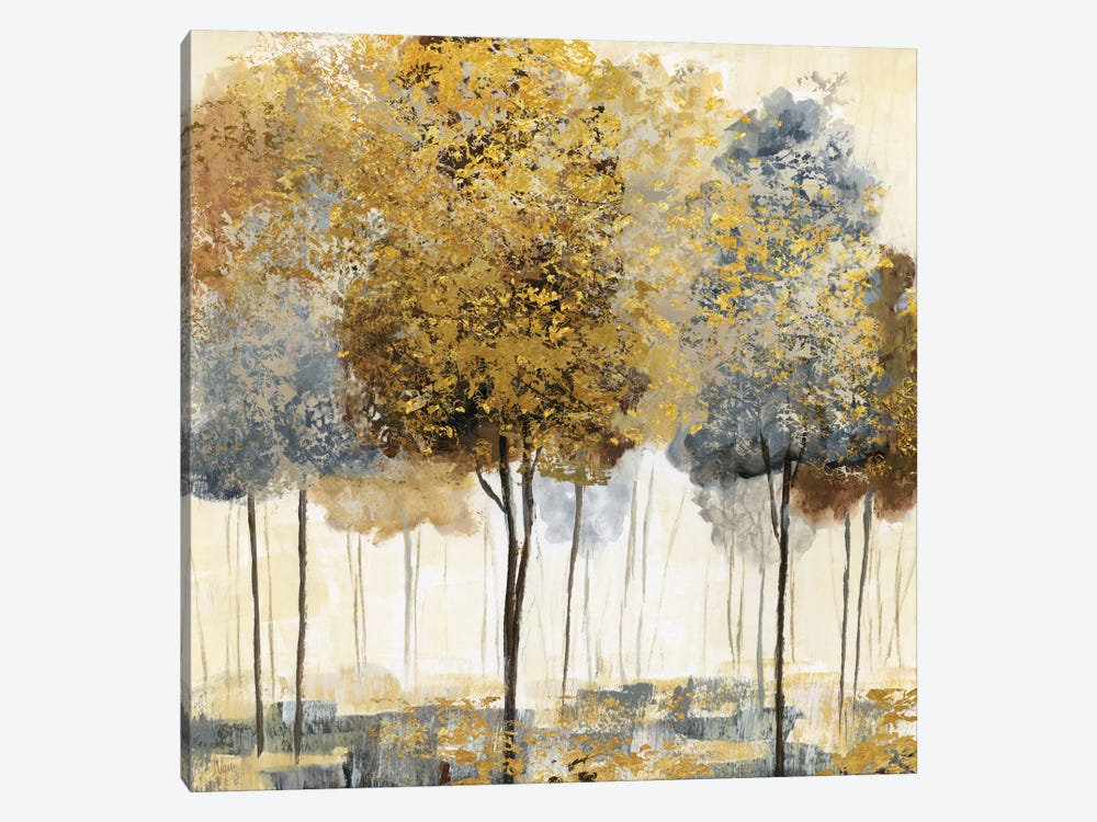 Metallic Forest I by Nan 1-piece Canvas Art Print