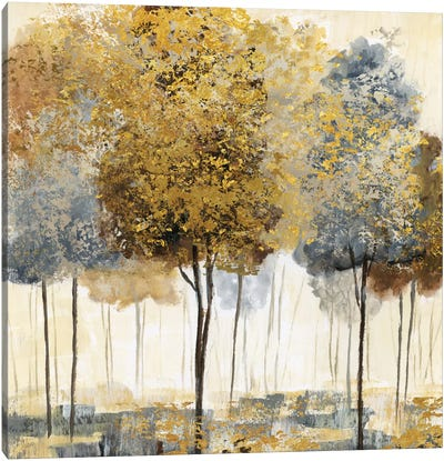 Metallic Forest I Canvas Art Print