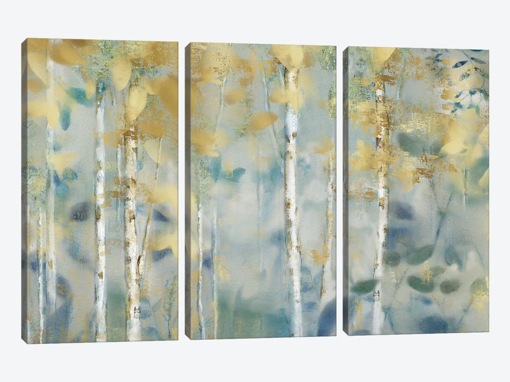 Gilded Forest II by Nan 3-piece Canvas Art Print