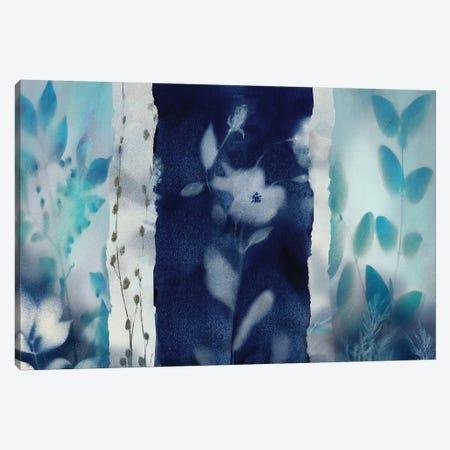 Indigo Montage Canvas Print #NAN73} by Nan Canvas Wall Art