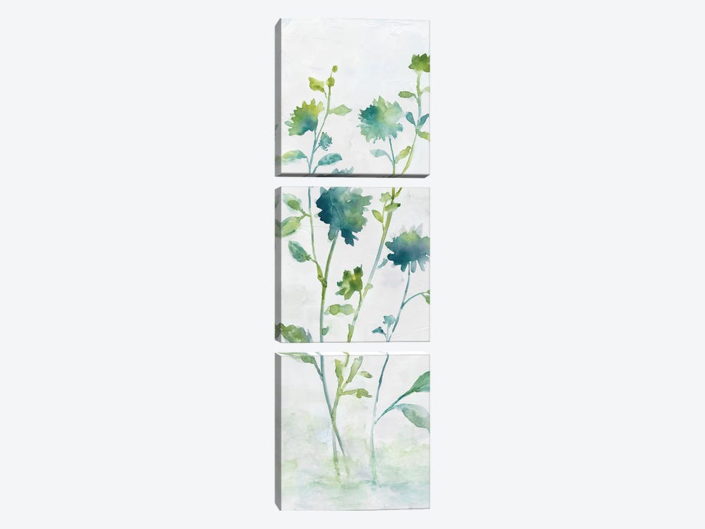 Meadow Silhouette II by Nan 3-piece Canvas Artwork