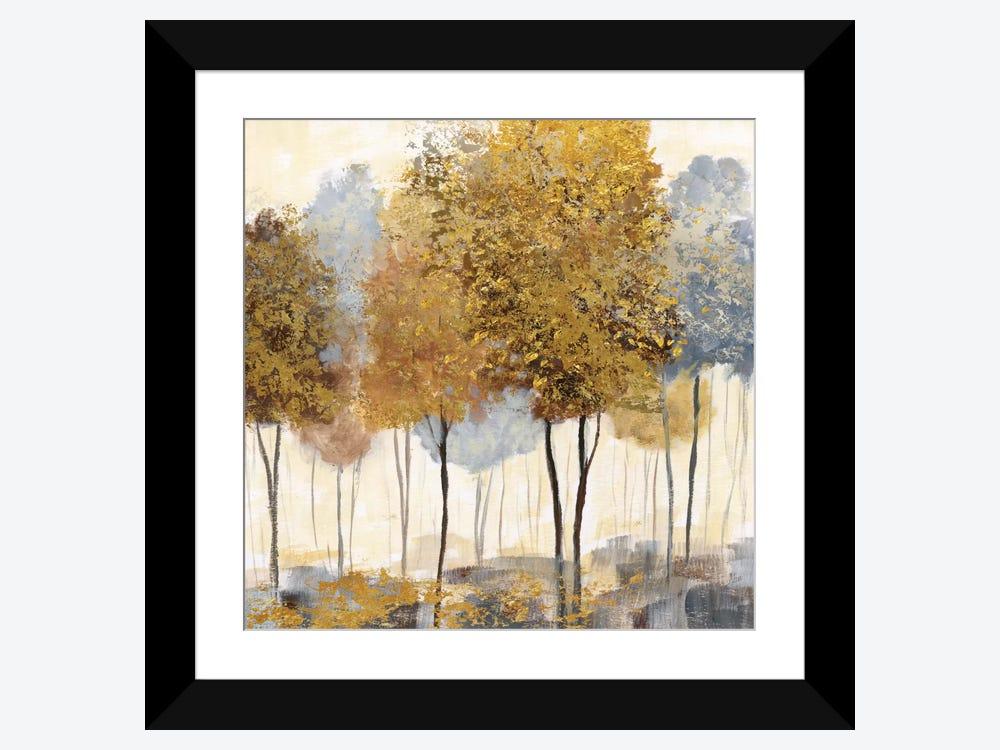 Metallic Forest Ii Art Print By Nan Icanvas