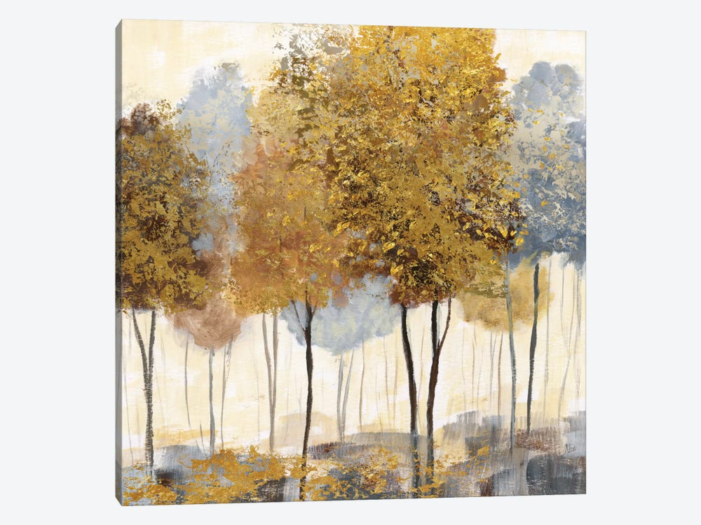 Metallic Forest II by Nan 1-piece Canvas Art