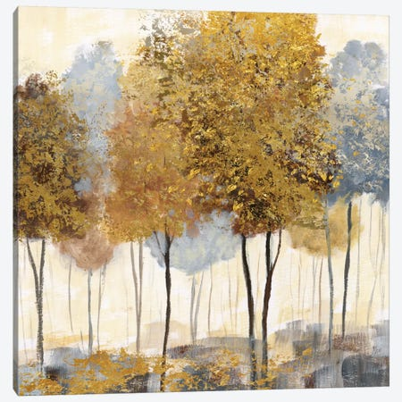 Metallic Forest II Canvas Print #NAN7} by Nan Canvas Wall Art