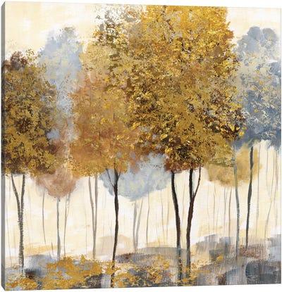 Metallic Forest II Canvas Art Print