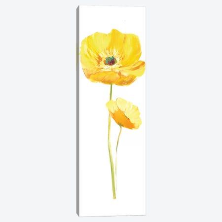 Poppy Pop III 3-Piece Canvas #NAN82} by Nan Canvas Art Print