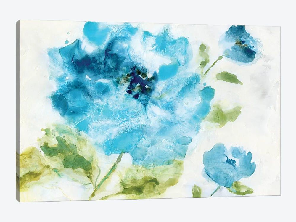 Softly Blue by Nan 1-piece Canvas Print
