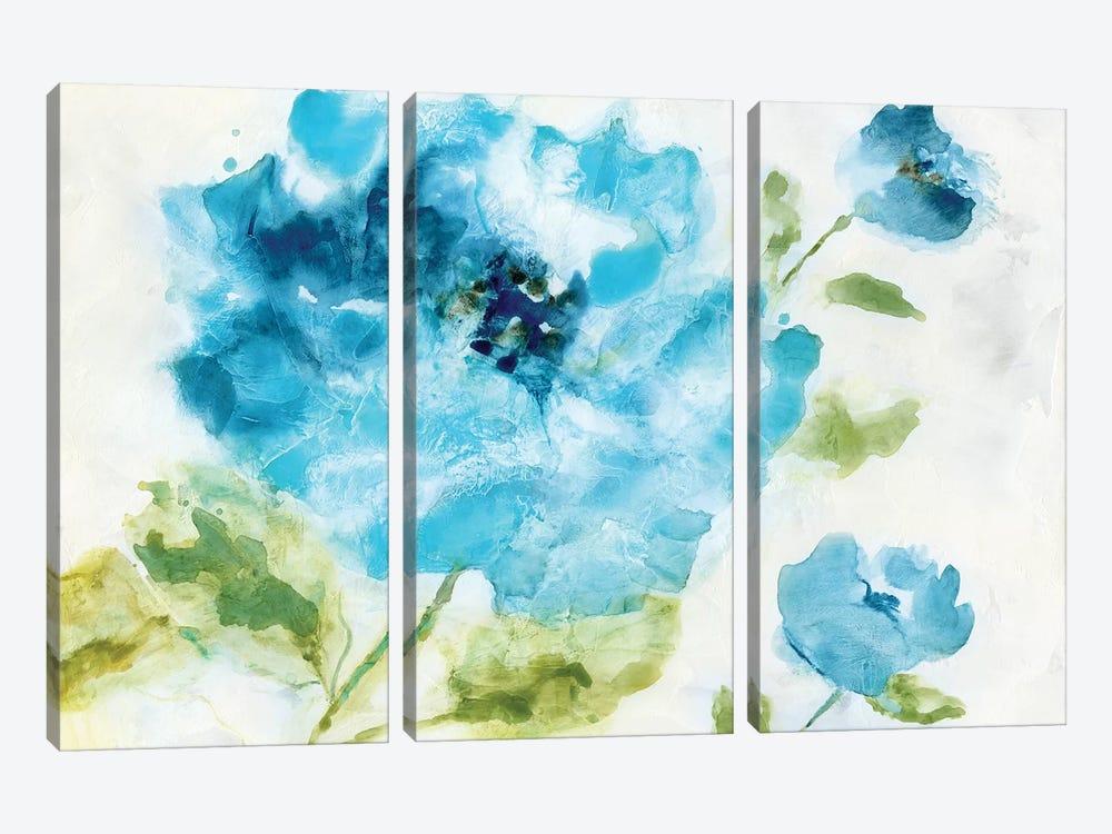 Softly Blue by Nan 3-piece Art Print
