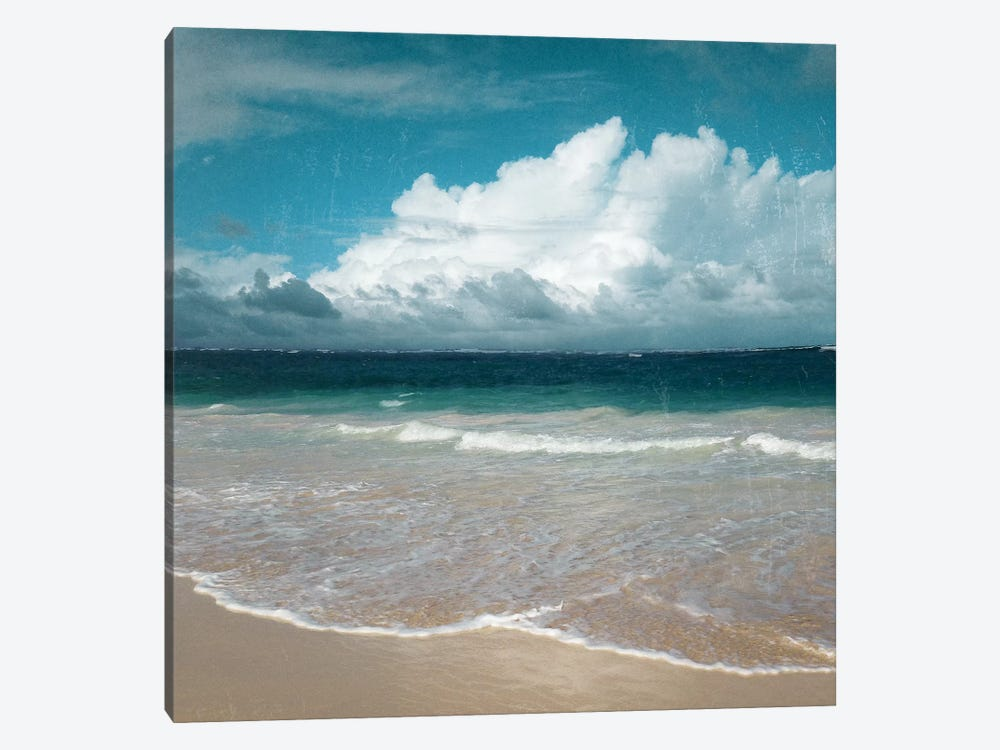 Beach Waves by Nan 1-piece Canvas Print