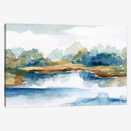 Blue Serenity Canvas Print #NAN91} by Nan Canvas Art