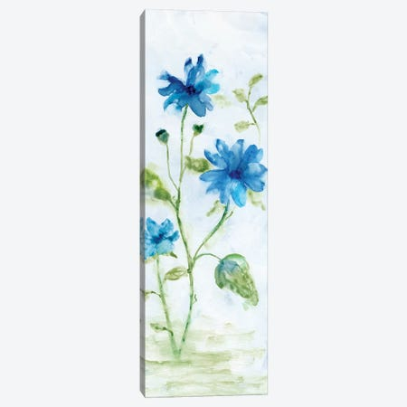 Blue Summer Silhouette I Canvas Print #NAN93} by Nan Canvas Art