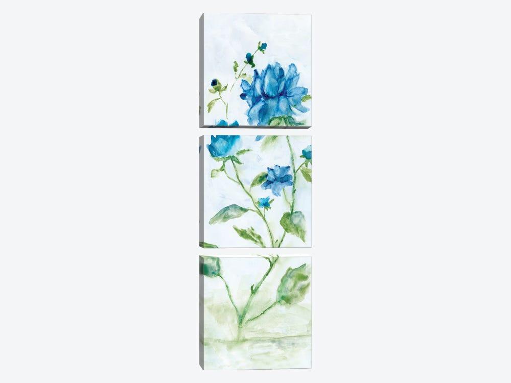 Blue Summer Silhouette II by Nan 3-piece Art Print