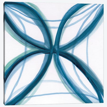 Bold Blue I Canvas Print #NAN95} by Nan Art Print