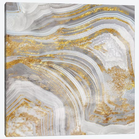 Agate Allure I Canvas Print #NAN9} by Nan Art Print